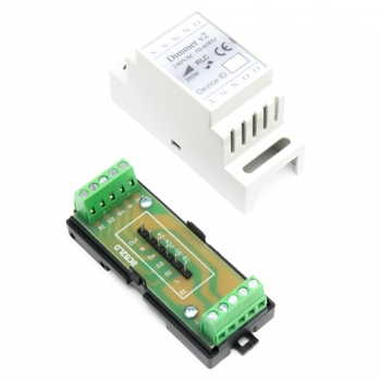 Haseman DIN Enclosure for Fibaro FGD-212 Universal Dimmer 2