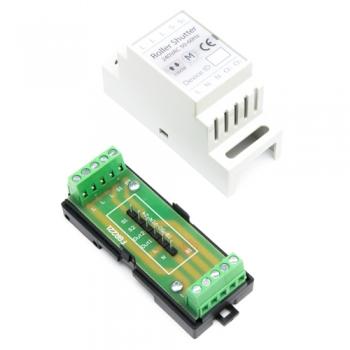 Haseman DIN Enclosure for Fibaro FGR-222 Roller Shutter Controller, v.1