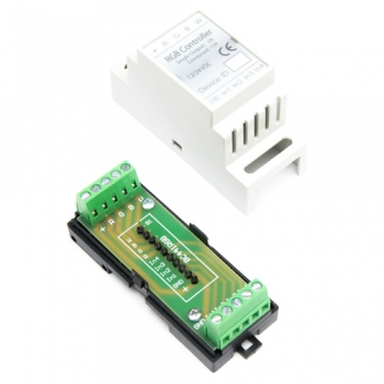Haseman DIN Enclosure for Fibaro FGRGBW-442/M-441 controller