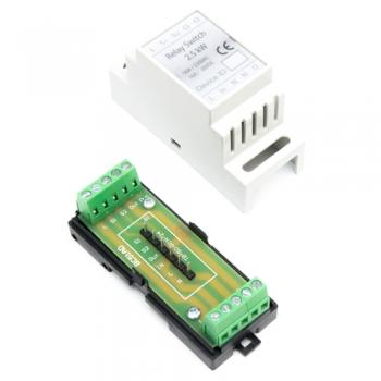 Haseman DIN Enclosure for Fibaro FGS-214 / FGS-212 Single Relay switch