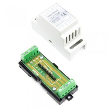 Haseman DIN Enclosure for Fibaro FGS-224 / FGS-222 Double relay switch